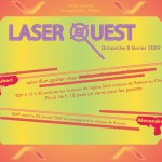Invitation Rallye Laser Quest (2009)