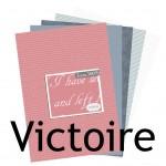 La nouveauté du lundi : Collection Victoire