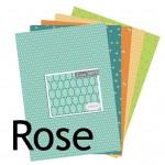 La nouveauté du lundi : Collection Rose