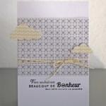 De superbes cartes en LOU par sophie !!!