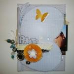 Mini-album scrapé en Sacha