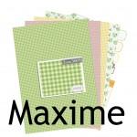 Nouveauté du lundi : Papiers à imprimer Maxime
