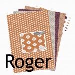 Nouveauté du lundi : Collection ROGER