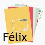 Nouveauté du lundi : papiers imprimables FELIX
