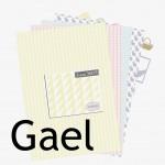 Nouveauté du lundi :Papiers à imprimer Gaël
