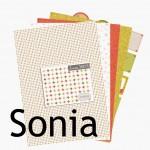 Nouveauté du lundi : Collection SONIA