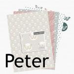 Nouveauté du lundi : Collection de papiers Peter