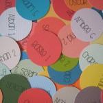 Nuancier des couleurs unies Com.16