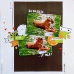 Page scrapée : sa majesté le tigre…