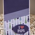 Carte pour la fête des pères