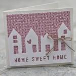 Carte Scrap : Home Sweet Home