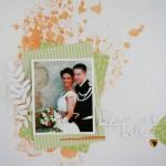 Page de mariage explosive