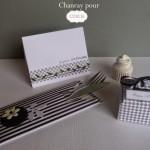 Set de table, boite cadeau et carte
