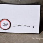 Deux cartes avec une planche d'étiquettes