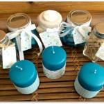 Etiquettes et decorations de bougies