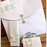 Paquets cadeaux romantiques