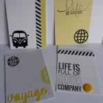 Des étiquettes de Project Life