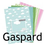 Nouvelle collection de papiers : GASPARD