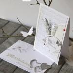 Duo de cartes pour un mariage