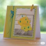 Une carte d'anniversaire avec un petit plus