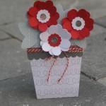 Une carte / Pot de fleurs !!!