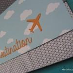 Une pochette pour passeport, billets…..