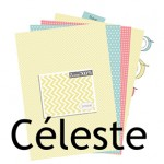 Nouvelle collection de papier : Céleste