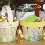 Paniers de Pâques recyclés