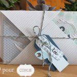 Scrap : pocket letter thème marin