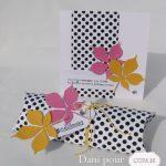 Cartes et pillow box cadeau