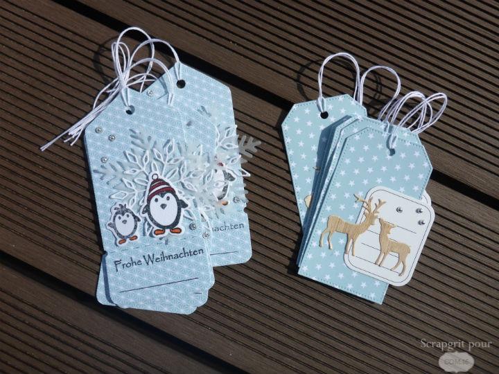 Scrap : Etiquettes cadeaux pour Noël   Com.16