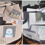 Scrap : Calendriers de l'Avent pour les enfants