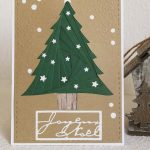 Scrap : Cartes Iris Folding pour Noël
