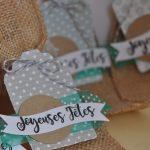 Scrap : Etiquettes pour cadeaux de Noel