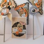 Scrap : Carte et décorations d'Halloween