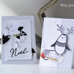 Scrap : Duo de cartes de Noël