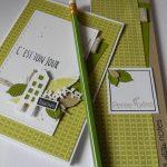 Scrap : Ensemble carte et carnet de notes