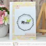 Scrap : Duo de cartes de remerciements