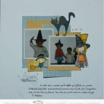 Scrap : Page Happy Halloween