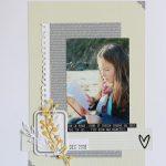 Page «Jolie jeune Fille»