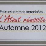 Atout réussite – Automne 2012