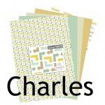 La nouveauté du lundi : Collection Charles