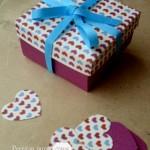 Tuto de boîte pour la Saint Valentin
