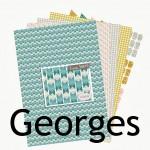 Nouveauté du lundi : Papiers à imprimer GEORGES