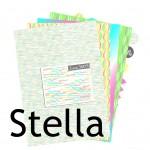 Nouveauté du lundi : Papiers à imprimer Stella