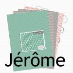 Nouveauté du lundi : papiers imprimables JEROME
