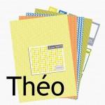 Nouveauté du lundi : Papiers à imprimer Théo