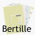 Nouveauté du lundi : papiers à imprimer BERTILLE