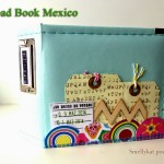 Mini album scrap road trip mexique
