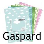Nouvelle collection de papiers : GASPARD